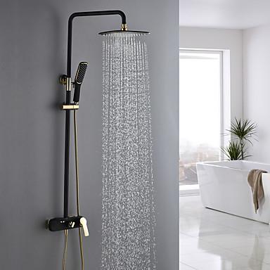 ברז למקלחת - עתיקה TI-PVD מערכת למקלחת שסתום קרמי