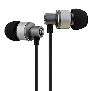 LIZU X-D22 באוזן חוטי אוזניות דִינָמִי נחושת טלפון נייד אֹזְנִיָה עם מיקרופון אוזניות