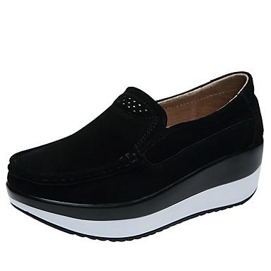 Creepers Swing Printemps de de Femme rond Bout 06534136 Confort PU microfibre Basket Chaussures Eté Chaussures synthétique Noir Pp7S4pvqxw