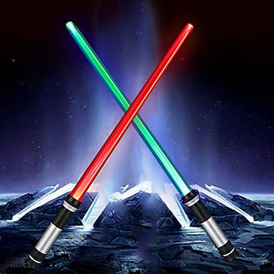 YWXLIGHT® 2 szto. Noc LED Light Zasilanie baterie AAA Przeciwe stresowi i niepokojom / Zmieniająca Kolor <5 V