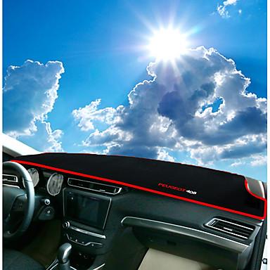 רכב לוח מחוונים שטיחים לפנים הרכב עבור Peugeot 2014 / 2015 / 2016 408