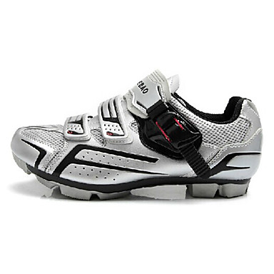 Tiebao® Pantofi de Cursieră Pantofi de Ciclism Adulți Rezistent la uzură Bicicletă șosea În aer liber Piele PVC Plasă de Aerisire Ciclism