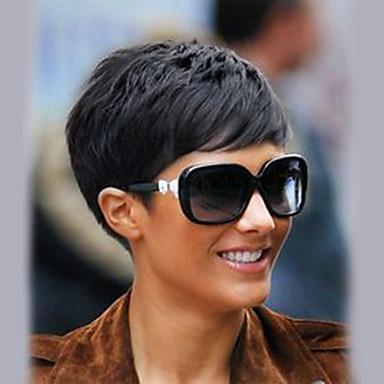 Peruki Bez Czepka Z Naturalnych Włosów Włosy Naturalne Prosto