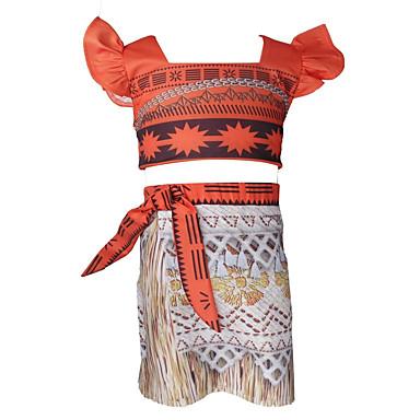סט של בגדים צמר כותנה סיבי במבוק אביב שרוול ארוך יומי ספורט אחיד בנות פשוט וינטאג' כתום
