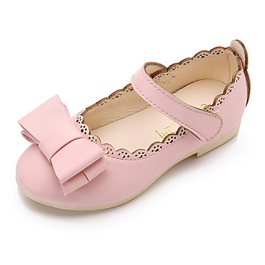 Girls Shoes Pu Spring Fall Comfort Flower Girl Shoes Flats For