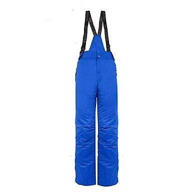 בגדי ריקוד גברים מכנסיים לסקי חם, עמיד למים, עמיד מחנאות וטיולים / סקי / פעילות חוץ פוליאסטר מכנסיים ביגוד סקי