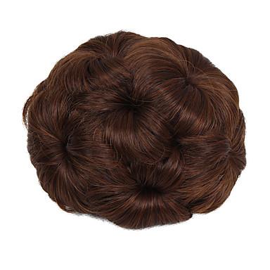 povoljno Perike i ekstenzije-Chignon punđe Kose za kosu updo Vezica Sintentička kosa Kose za kosu Ugradnja umetaka Strawberry Blonde / Medium Auburn / Crna / Srednje smeđa / Srednja Auburn