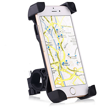 אופנוע אופניים טלפון סלולרי הר לעמוד מעמד מתכווננת לעמוד טלפון סלולרי סוג אבזם להחליק בעל סיליקון עמיד