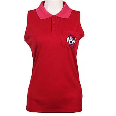 בגדי ריקוד נשים גולף טי שירט עמיד / ייבוש מהיר / נשימה גולף / פעילות חוץ ספורט וחוץ