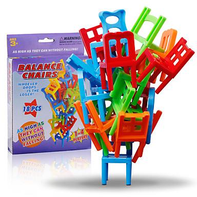 Bausteine Stapelspiele Stuhl Gleichgewichtspunkt Klassisch Klassisch Mädchen Jungen