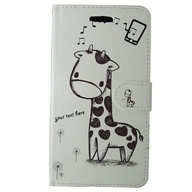 מגן עבור Huawei P8 Lite מחזיק כרטיסים ארנק עם מעמד נפתח-נסגר כיסוי מלא אנימציה קשיח עור PU ל