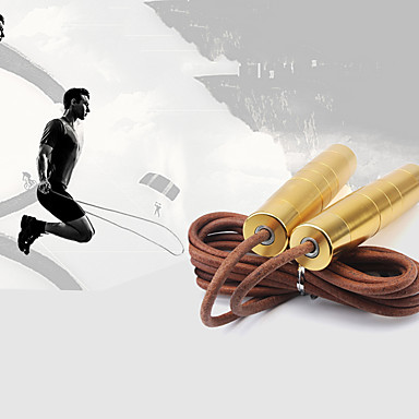 Springseil / Springseil Übung & Fitness Springen Langlebig Hilft beim Abnehmen Kunststoff PVC Federstahldraht -