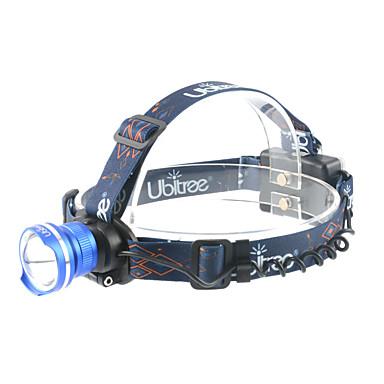 ANOWL LS2989 פנסי ראש LED 700lm 3 מצב תאורה נייד / מקצועי מחנאות / צעידות / טיולי מערות / שימוש יומיומי / צלילה / שייט אדום / כחול