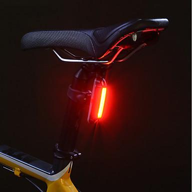 Eclairage de Velo Eclairage de Vélo Arrière Eclairage sécurité vélo / Ecarteur de danger ECLAIRAGE ARRIERE VTT Vélo tout terrain Cyclisme Etanche Lithium USB