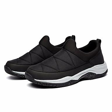 בגדי ריקוד גברים נעליים PU סתיו / חורף נוחות נעלי ספורט שחור / אפור