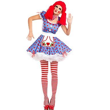 672e5b5305 Burlesque Pagliaccio Circo Costumi Cosplay Vestito da Serata Elegante Per  donna Divertenti Carnevale Feste / vacanze