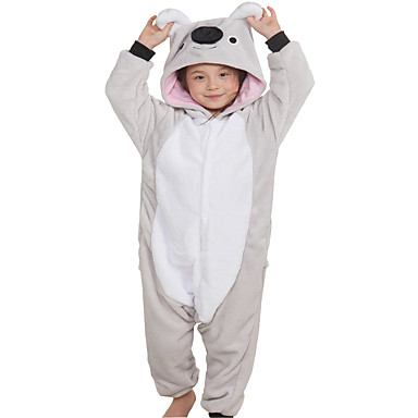 Enfant Adulte Pyjamas Kigurumi Animé Koala Combinaison de Pyjamas Flanelle  Toison Gris Cosplay Pour Garçons et filles Pyjamas Animale Dessin animé  Fête ... b641e6b99bb02