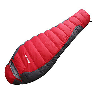 Saco de dormir Ao ar livre Solteiro (L150 cm x C200 cm) -15-20 °C Tipo Múmia Penas de Pato A Prova de Vento Portátil Á Prova de Humidade Secagem Rápida Respirabilidade para Caça Equitação Campismo