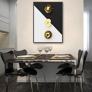 מופשט אוכל איור וול ארט,PVC חוֹמֶר עם מסגרת For קישוט הבית אמנות מסגרת סלון פנימי