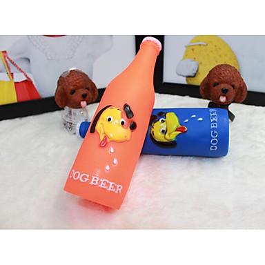 אלסטי צעצועים חורקים סאונד (שמע) צעצוע קריקטורה בקבוק אחר חומר עבור חתול כלב