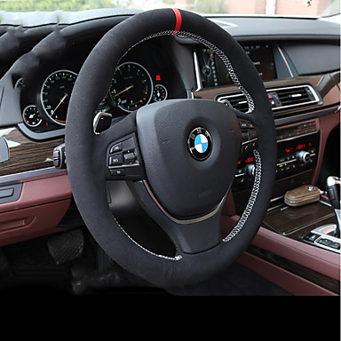 כיסויים להגה עור אמיתי שחור For BMW X3 / X5 / סדרה 3 כל השנים