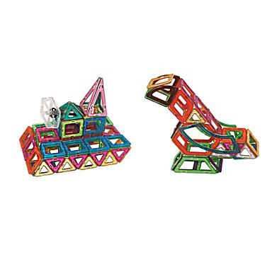 בלוק מגנטי אבני בניין 78 pcs נושא קלאסי ארכיטקטורה רכבים טרנספורמבל אינטראקציה בין הורים לילד קלסי ונצחי שיק ומודרני משאית מטוס בנים בנות צעצועים מתנות