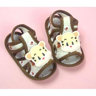 נעליים בד אביב / סתיו נוחות / צעדים ראשונים סנדלים ל תינוק קפה / ורוד / כחול בהיר