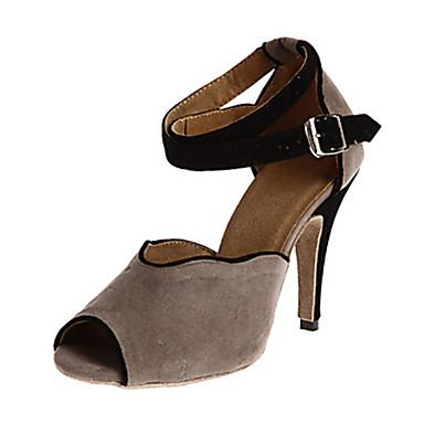 Chaussures Latines Similicuir Basket OrneHommes t Talon Aiguille Noir Personnalisables Chaussures de danse Noir Aiguille / Amande / Vert 660581