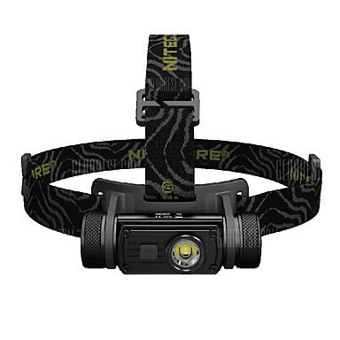 Nitecore HC60 Hodelykter Frontlys til sykkel 1000 lm LED Cree® XM-L U2 1 emittere Manual 8.0 lys tilstand med batteri Vannavvisende Bærbar Skype Camping / Vandring / Grotte Udforskning Dagligdags