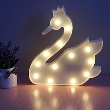 1pc LED לילה אור סוללות AA קל לנשיאה