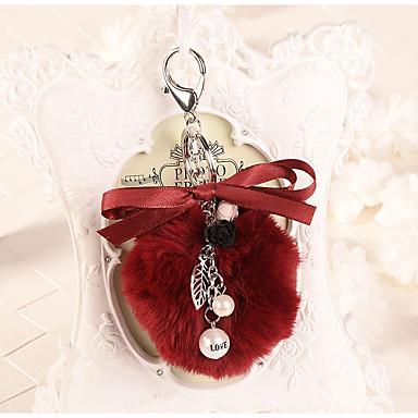 חתונה / חברים / יומהולדת מצדדים במחזיק מפתחות קטיפה מזכרות מחזיקי מפתחות - 1 pcs כל העונות