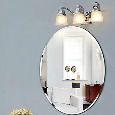 מראה מודרני זכוכית משוריינת יחידה 1 - מראה אביזרי מקלחת / מוברש