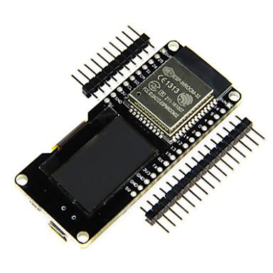 לוח פיתוח עבור WiFi ו- Bluetooth אלחוטית עם 0.96 אינץ 'OLD LCD מודול ארדואינו