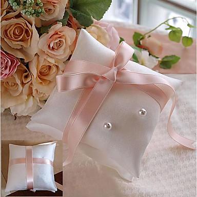 סאטן כרית לטבעת רומנטיקה / חתונה כל העונות