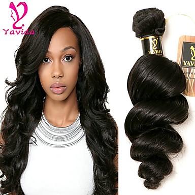 1 עניץ שיער פרואני גלי משוחרר שיער אנושי טווה שיער אדם שוזרת שיער אנושי תוספות שיער אדם בגדי ריקוד נשים