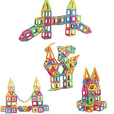 hesapli Oyuncaklar ve Oyunlar-Manyetik blok Manyetik Fayans Legolar 279 pcs Mimari Kılıflar Yeni Dizayn geometrik Desen Klasik & Zamansız Geometrik Temalı Hepsi Genç Erkek Genç Kız Oyuncaklar Hediye / El-yapımı