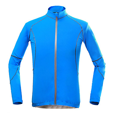 KORAMAN Men's Cycling Jacket Bike Top Quick Dry, Ultraviolet Resistant, Breathable Holiday, Classic, Honeymoon Polyester Blue Bike Wear / Stretchy