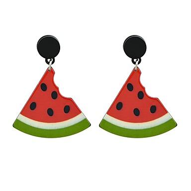 voordelige Oorbellen-Dames Druppel oorbellen oorbellen IJs Fuchsia Dames Modieus Sieraden Wit / Rood Voor Dagelijks Afspraakje