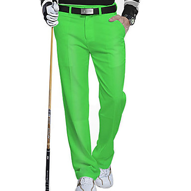 Homens Sem Manga Golfe Calças Respirável Redutor de Suor Confortável Golfe Esportes Relaxantes