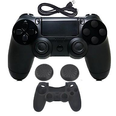 אלחוטי משחק מגן במקרה מגן / בקר משחק עבור PS4 ,  בלותוט' ידית משחק / רעידה משחק מגן במקרה מגן / בקר משחק סיליקון / ABS 1 pcs יחידה