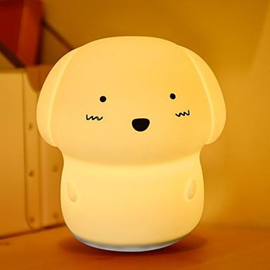 1pc LED לילה אור USB לילדים / נטענת / גע בחיישן