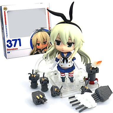 נתוני פעילות אנימה קיבל השראה מ Kantai Collection PVC 9.5 CM צעצועי דגם בובת צעצוע