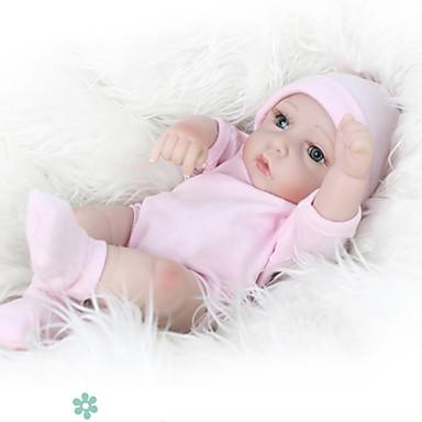 preiswerte Puppen-NPKCOLLECTION NPK-PUPPE Lebensechte Puppe Baby 12 Zoll Ganzkörper Silikon Silikon Vinyl - lebensecht Niedlich Handgefertigt Kindersicherung Non Toxic lieblich Kinder Mädchen Spielzeuge Geschenk