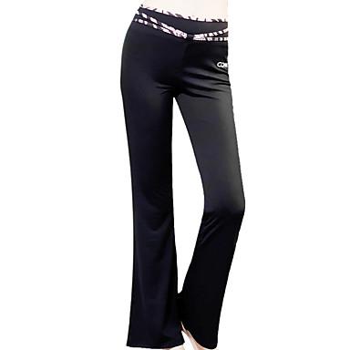 Pantalon de yoga Pantalon / Surpantalon Etanche Antistatique Respirable Taille moyenne Elastique Vêtements de sport Femme CONNY Yoga