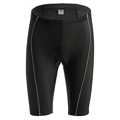 Jaggad Herrn Damen Gepolsterte Fahrradshorts - Schwarz Fahhrad Shorts/Laufshorts Gepolsterte Shorts, Rasche Trocknung, Atmungsaktiv, 3D