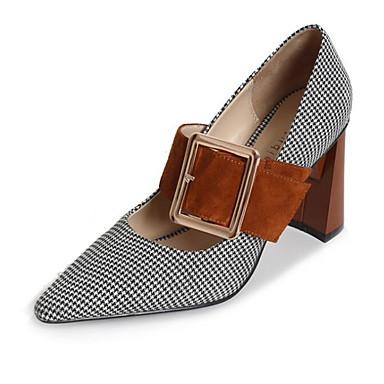 Bottier Confort à Femme Brun Noir 06555202 Automne Chaussures Printemps Talons Cuir Chaussures Talon claire qxzIUYzw