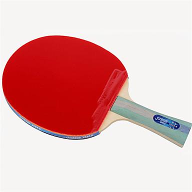 DHS® R5002-R5003 Ping Pang/מחבטי טניס שולחן עץ גוּמִי 5 כוכבים ידית ארוכה פצעונים
