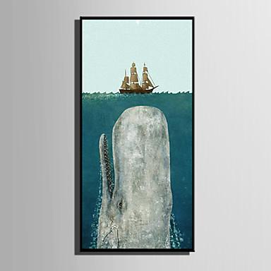 חיות סרט מצויר איור וול ארט, פלסטיק חוֹמֶר עם מסגרת For קישוט הבית אמנות מסגרת סלון