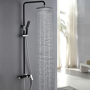 ברז למקלחת - מסורתי כרום ניקל המלוטש מערכת למקלחת שסתום קרמי
