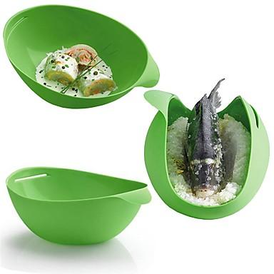 Narzędzia kuchenne Silikonowy Kreatywne / Do kuchenek mikrofalowych / DIY Naczynie parowe Dla Egg / Do naczynia do gotowania / na ciasto 1szt